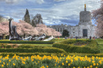 Spring Has Sprung at the Oregon Capitol by Ian Sane