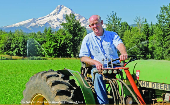 Mike McCarthy on Tractor
