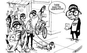 Bill Bramhall Cartoon