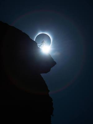 Solar Eclipse Smith Rock_Ted Hesser