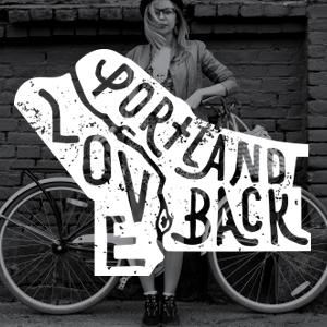 City Club Love Portland Logo