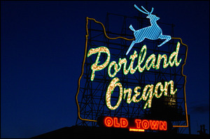 Portland Sign by BCOL CCCP Creative Commons