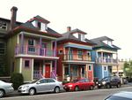 Rowhouses in NW Portland by Trevor Dodge