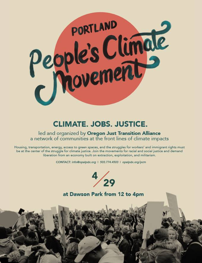 OPAL Peoples Climate March