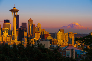 Howard Ignatius_Seattle Sunset