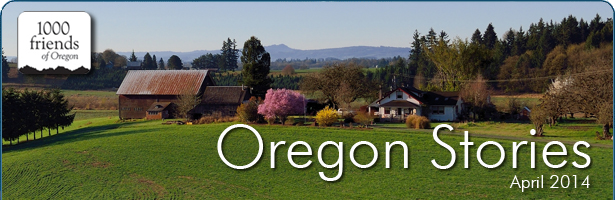 Oregon Stories, April 2014: A Shared State