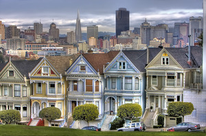 Painted Ladies SF by Scott Loftesness
