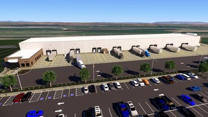 Nyssa Rail Reload Center Artist Rendering Courtesy of Malheur County Economic Development